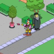 Krustcraft Krusty Handing Out Downloadable Content (2)