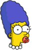 Baby Marge Pacifier Icon