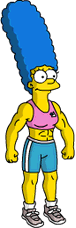 Muscular Marge Menu