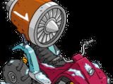 Jet Engine Bike