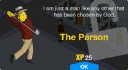 The Parson Unlock Screen