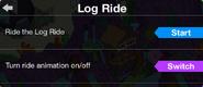 Log Ride animation switch