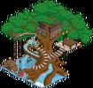 Waterslide Tree Menu