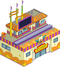 Krusty's Drive-Thru Station Menu