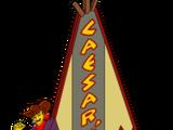 Pow Wow's Casino Sign