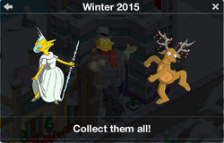 Winter 2015 Character Collection