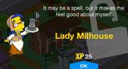 Lady Milhouse Unlock Screen
