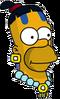 Mayan Homer Icon