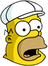 King-Size Homer Surprised Icon
