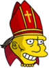 The Beefy Bishop Happy Icon