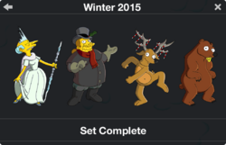 Winter 2015 Character Collection 2