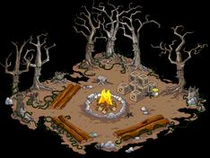 Spooky Campfire Menu