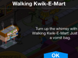 Walking Kwik-E-Mart