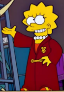 Wizard Lisa in the show