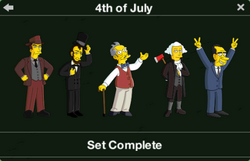 4th July Character Collection