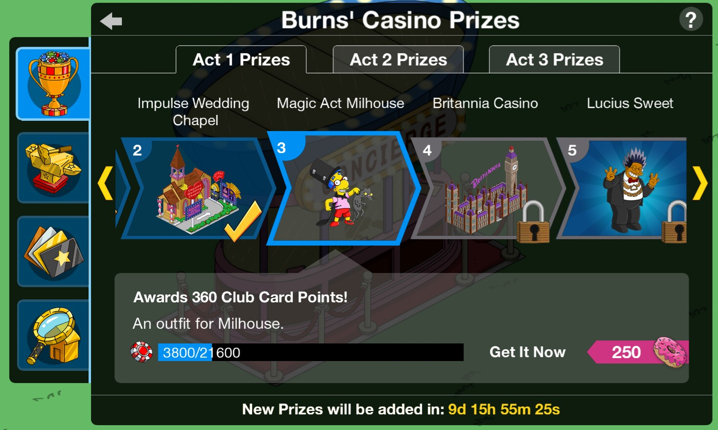 Simpsons tapped out halloween 2018 community prizes