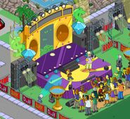 Hip hop stage Homerpalooza