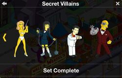 Secret Villains Character Collection 2