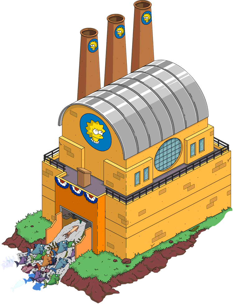 Little lisas recycling plant the simpsons tapped out wiki produces blueprints malvernweather Gallery