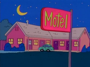 Cartoon Motel in the show