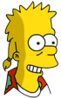 Mooch Bart Happy Icon