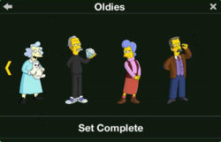 Oldies Character Collection 2