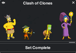 Clash of Clones Character Collection 2