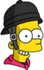 Jockey Bart Happy Icon