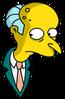Mr. Burns Eyesdarting Icon