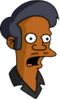 Pin Pal Apu Surprised Icon