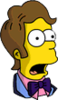 Prom Time Homer Surprised Icon