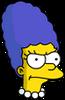 Baby Marge Annoyed Icon