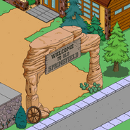 Old West Sign in-game