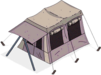 Camping Tent Prize Icon