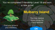 Friend Points 19 Mulberry Island Unlock