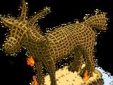Giant Burning Goat