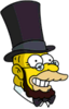 Honest Abe Happy Icon