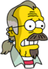 Nedward Flanders Sr. Scared Icon