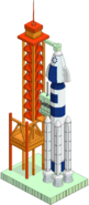 Rocket Launch Pad Menu