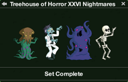 Treehouse of Horror XXVI Nightmares Character Collection