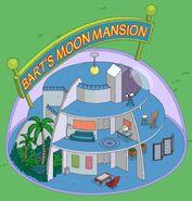 Bart's Moon Mansion animation