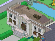 Damaged Court House in the game