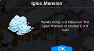 Igloo Mansion notification