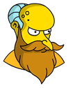 New God Mr. Burns Sidebar