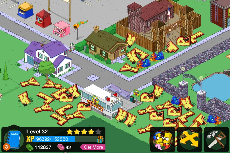 Simpsons tapped out roulette