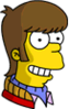 Teenage Homer Happy Icon