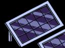 Modern Solar Panel Menu
