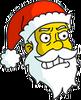Santa Claus Annoyed Icon