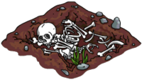 Skeleton Pile Menu