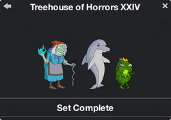 Treehouse of Horror XXIV Character Collection